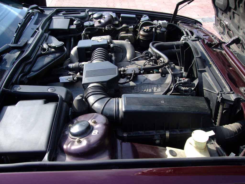 ремонт двигатель bmw 530 ia