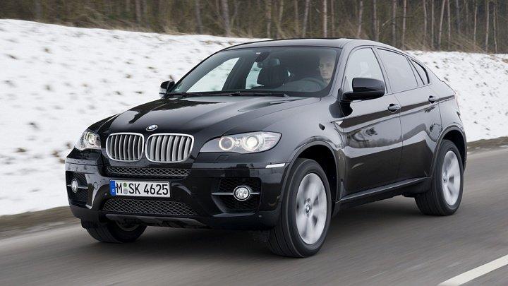 Обновленный BMW X6