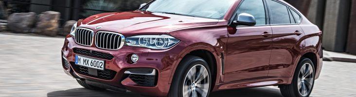 Экстерьер BMW X6 2015