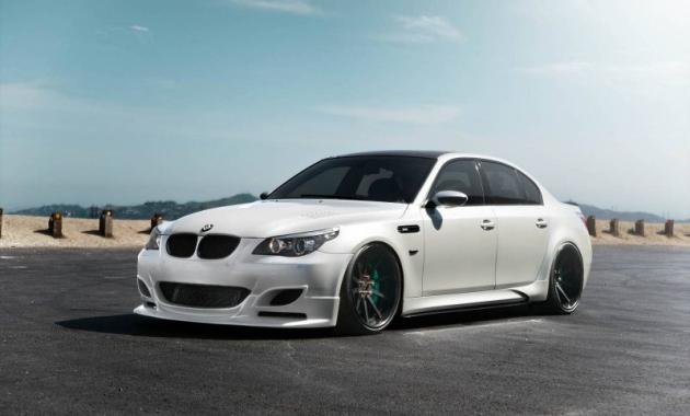 Новый обвес BMW M5