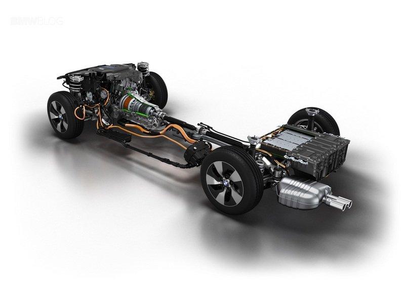 BMW представила гибридную установку Power eDrive
