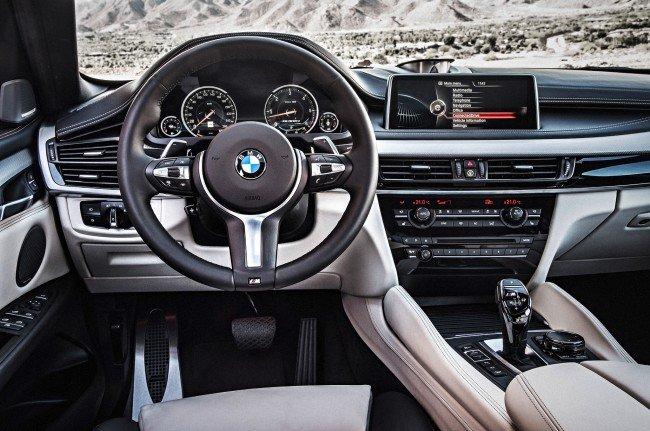 Салон BMW X6 2015