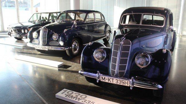 Ретро-автомобили BMW