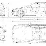 bmw 5 sedan e39 схема