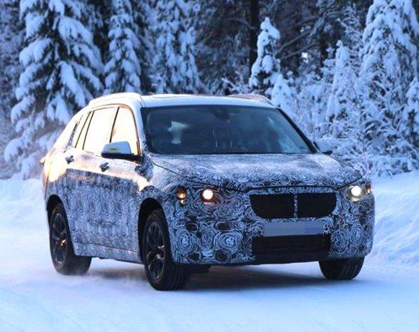 Начались зимние тесты BMW X1