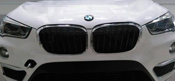Новый BMW X1 замечен без камуфляжа