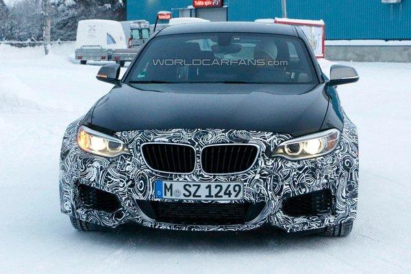 BMW тестирует новый M2 Coupe