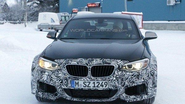 Опубликованы первые фотографии BMW M2 Coupe