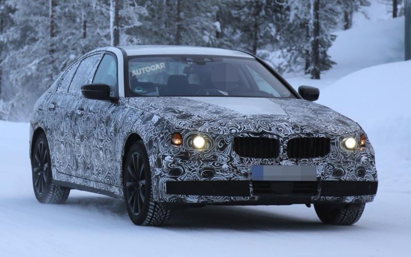 Новый  BMW 5-Series замечен на тестах