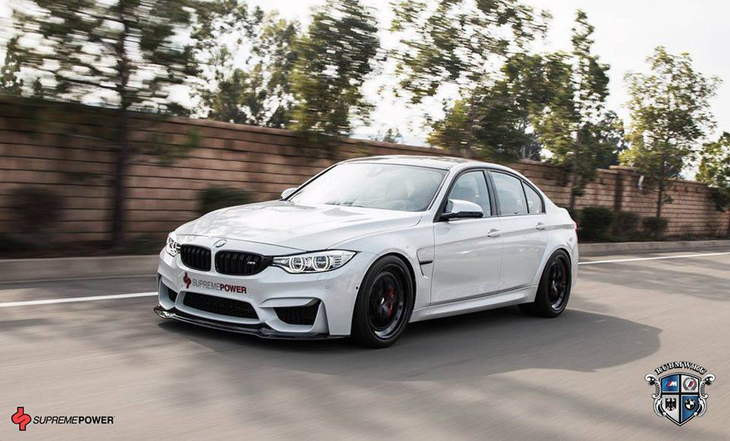 Тюнинг BMW M3 от Supreme Power