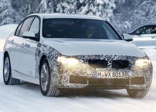 BMW 3-Series Plug-in Hybrid замечен на зимних тестах