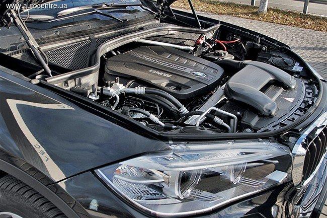 Автомобиль BMW X6: под капотом