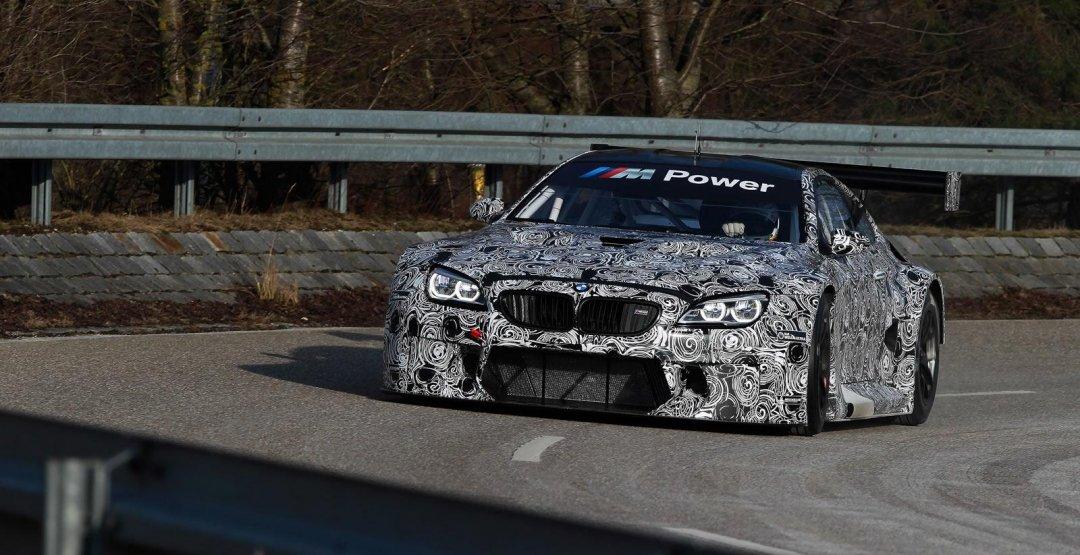 Появились изображения нового гоночного купе BMW M6 GT3