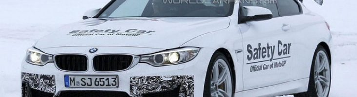 BMW М4 GTS на тестах в Скандинавии
