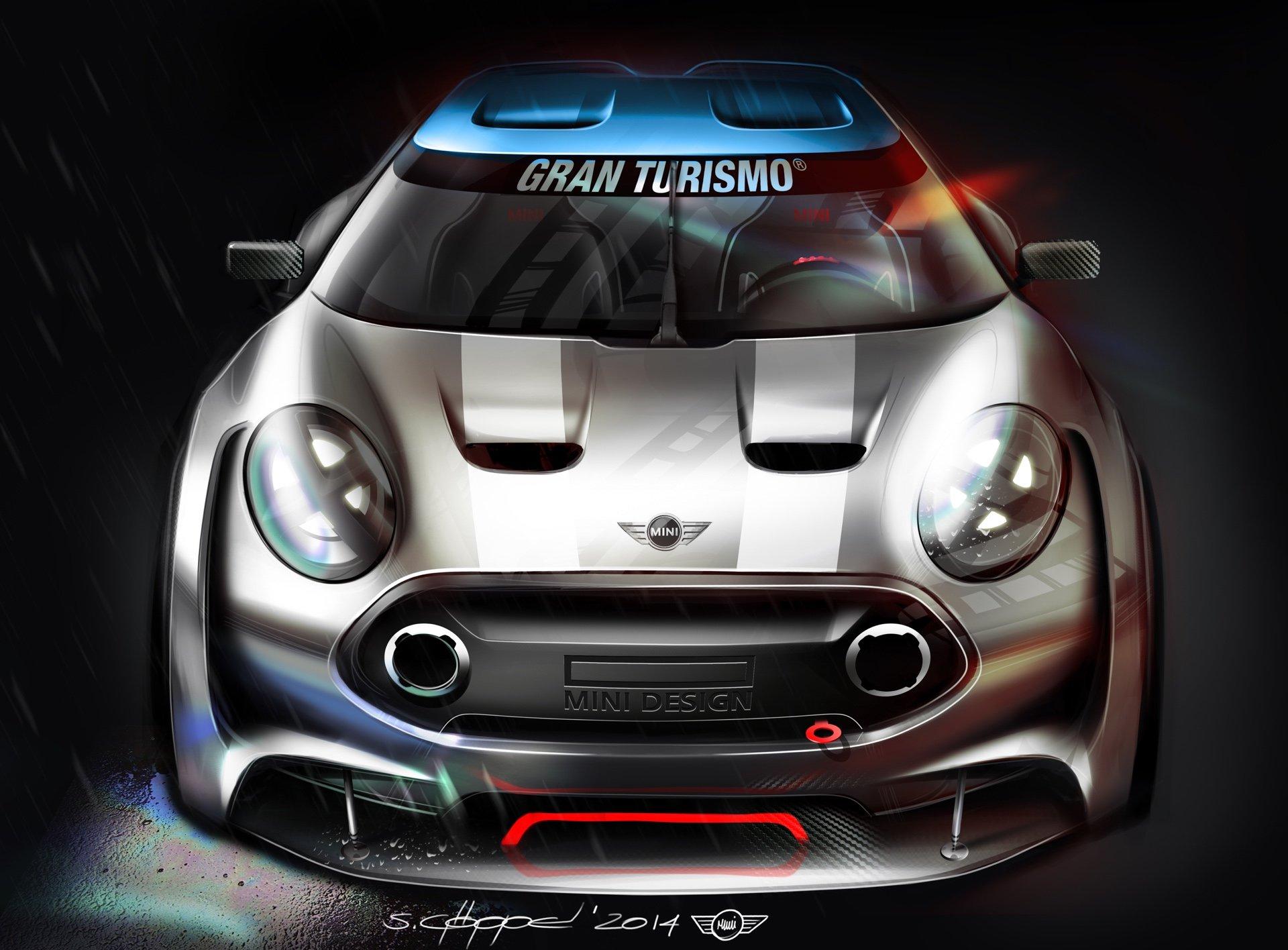 MINI разработала концепт-кар для игры Gran Turismo