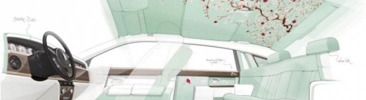 Rolls-Royce представит эсклюзивный экземпляр под названием Serenity