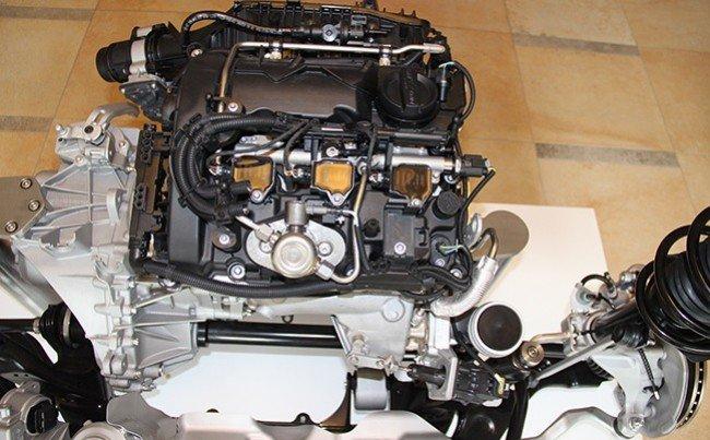 Мотор модели BMW 225і