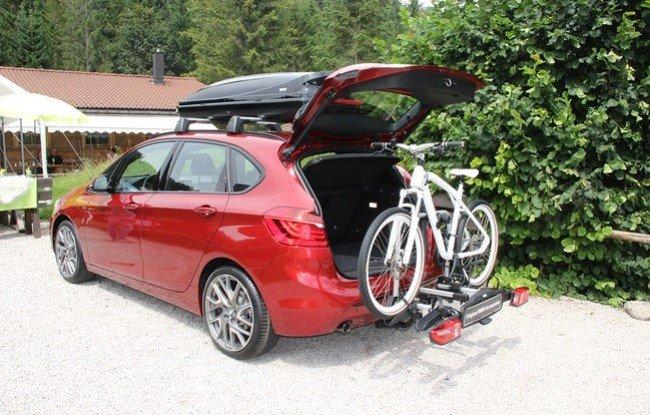 BMW 2-й серии Active Tourer , багажник