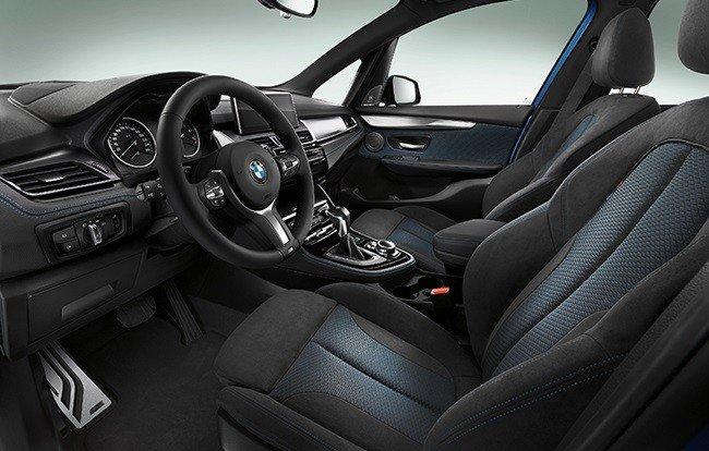 BMW 2-й серии - салон