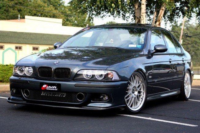 Тюнингованный BMW E39