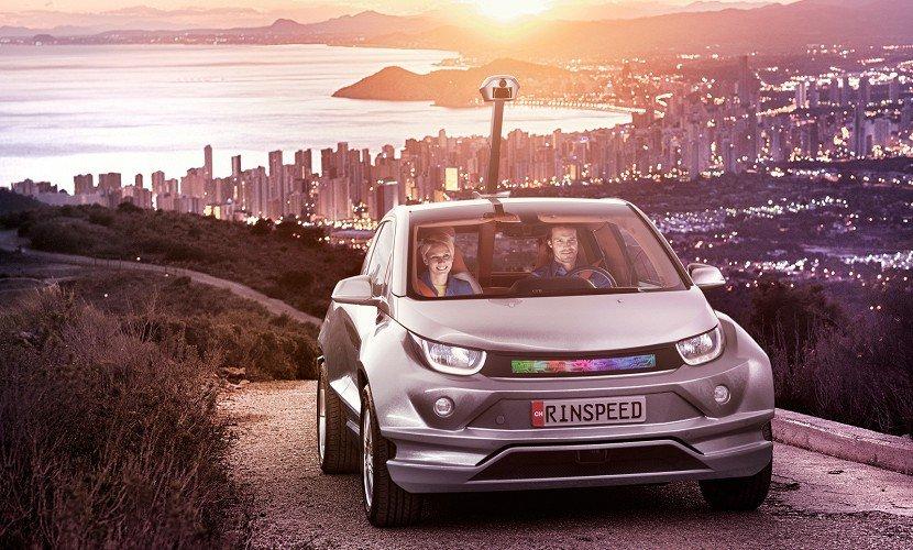 Швейцарская компания Rinspeed разработала систему автономного управления на базе электромобиля БМВ i3