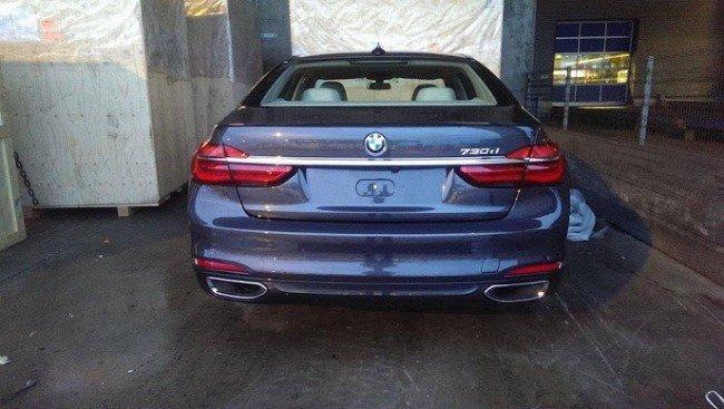 Задняя часть кузова BMW 7-Series