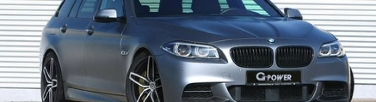 BMW M550d g-power