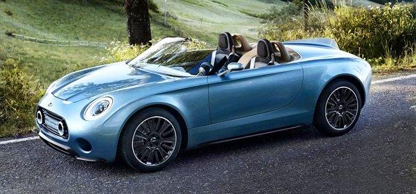 В 2018 стартуют продажи Mini Superleggera Vision