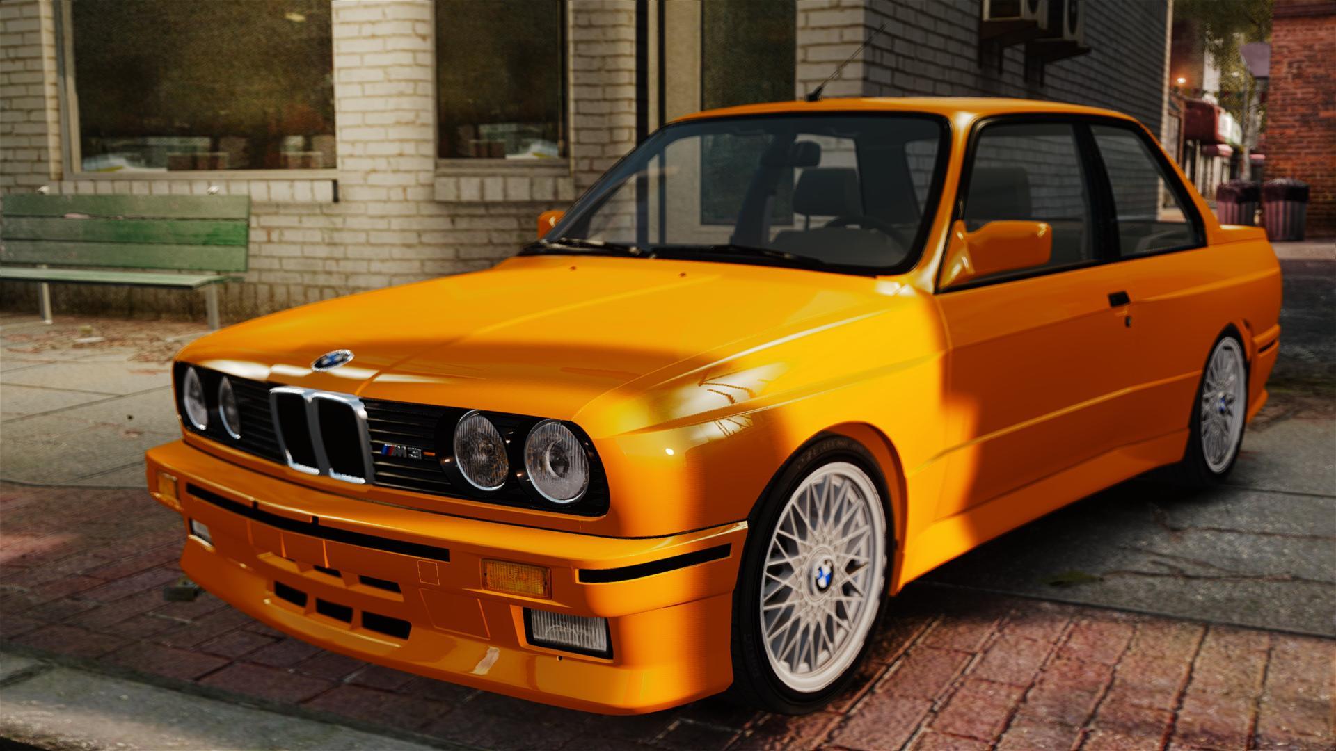 BMW M3 (E30) золотой