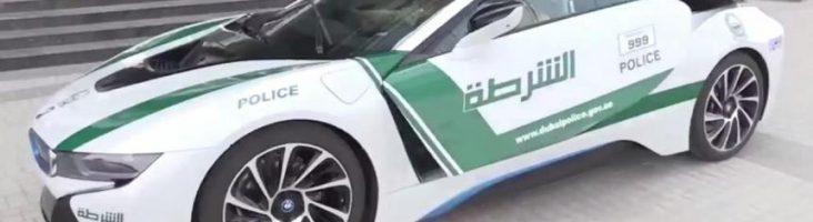 Полицейский BMW i8