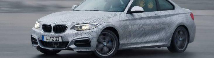 BMW M235i с автопилотом