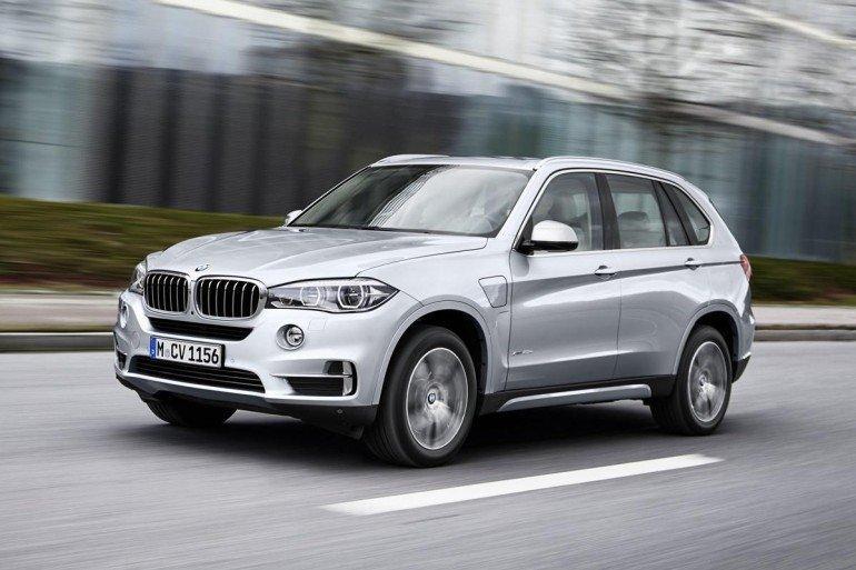 Новый BMW X5 xDrive40e будет показан на автошоу в Нью-Йорке