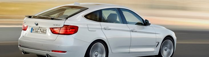 BMW 3GT белая