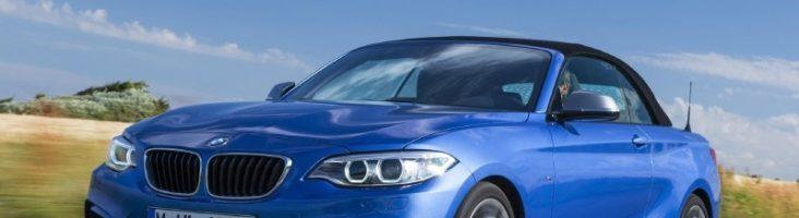 BMW 1-Series синий