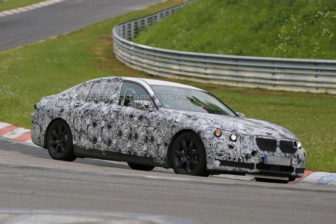 BMW 7 Series на тестах