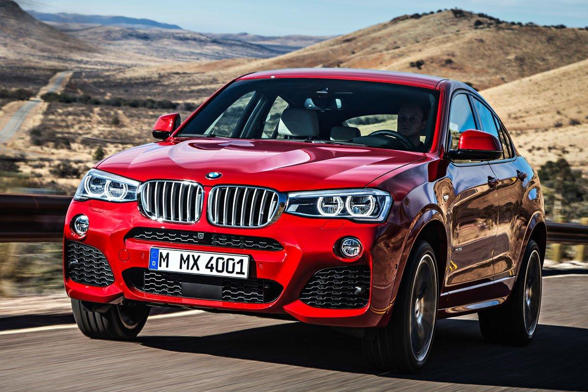 BMW X4 xDrive20d красный