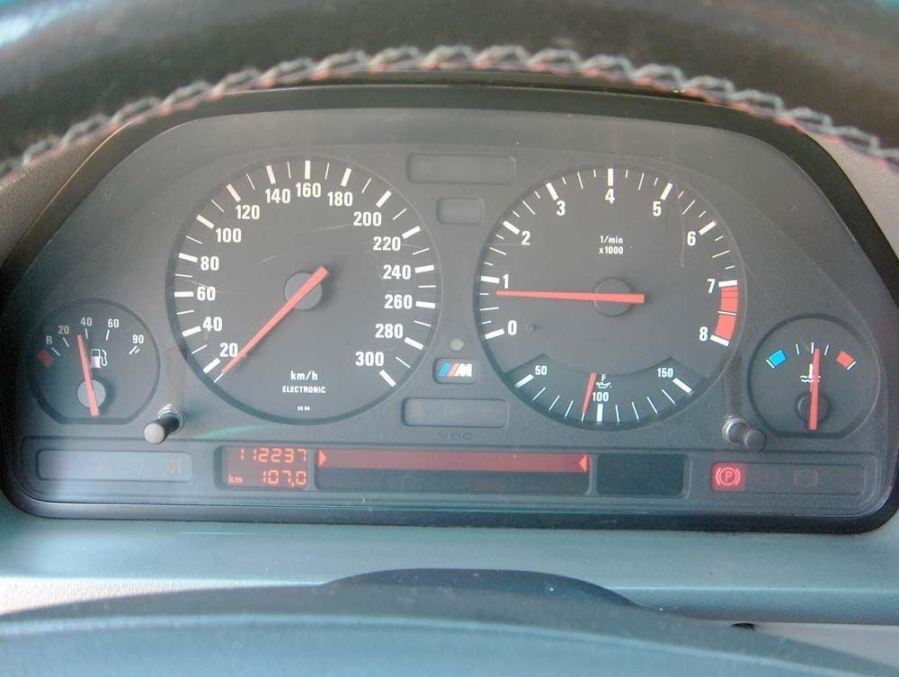 Спидометр BMW E34