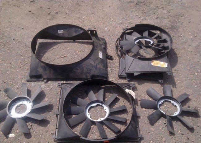 Защитный диффузор вентилятора охлаждения BMW