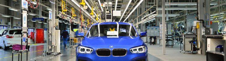 BMW 1-Series на конвейере