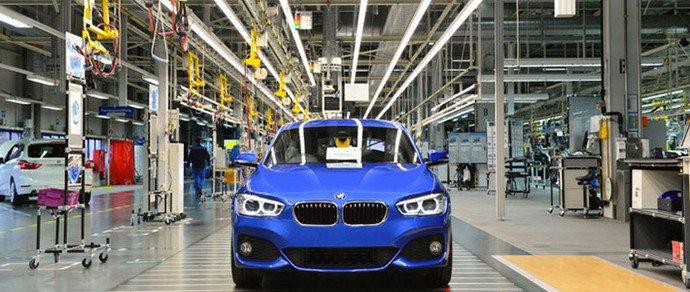 С конвейера сошел 2-ух миллионный BMW 1-Series