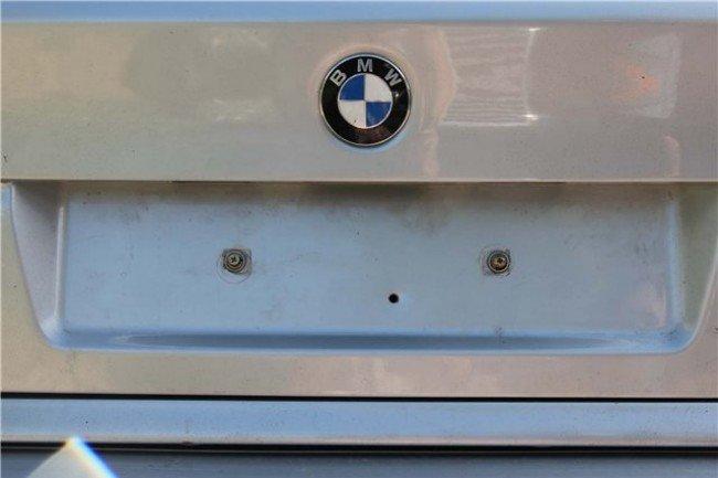 Отверстие в багажнике BMW E39