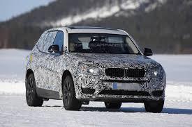 Обновленный BMW X3 появится в 2017 году