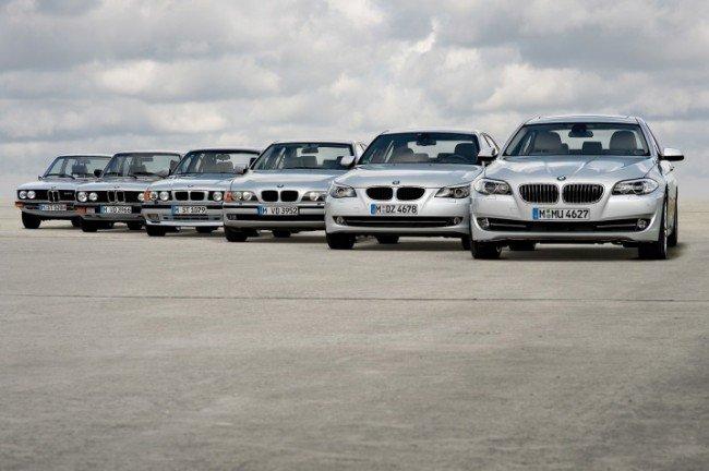 Линейка BMW 5 серии