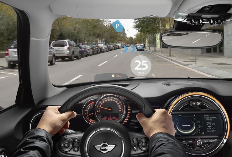Информационные очки появятся у водителей BMW