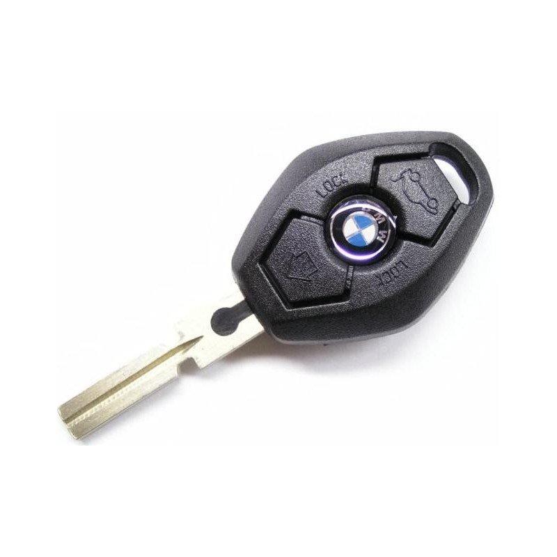 Как разобрать ключ БМВ для замены батарейки