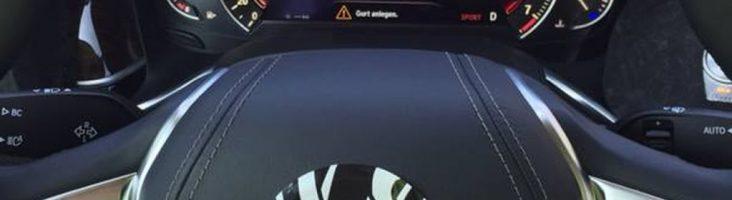 руль BMW 7 2015
