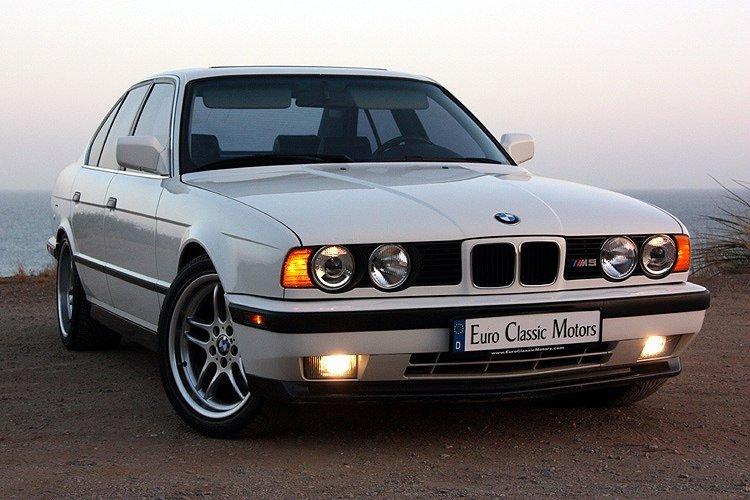 BMW E34 M5: исторический экскурс и особенности автомобиля