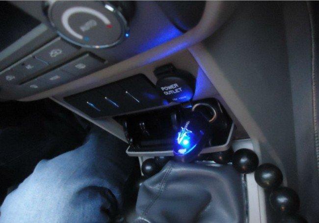 Fuel Shark в автомобиле