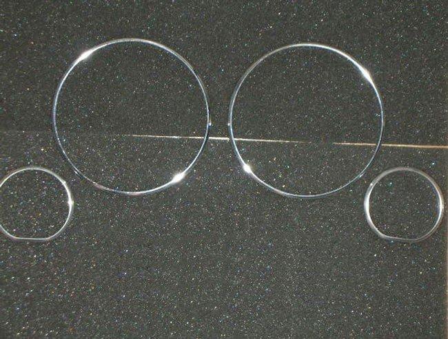 Кольца в щиток приборов BMW E34