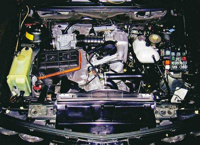 Компоновка двигателя BMW 535i E28 5er
